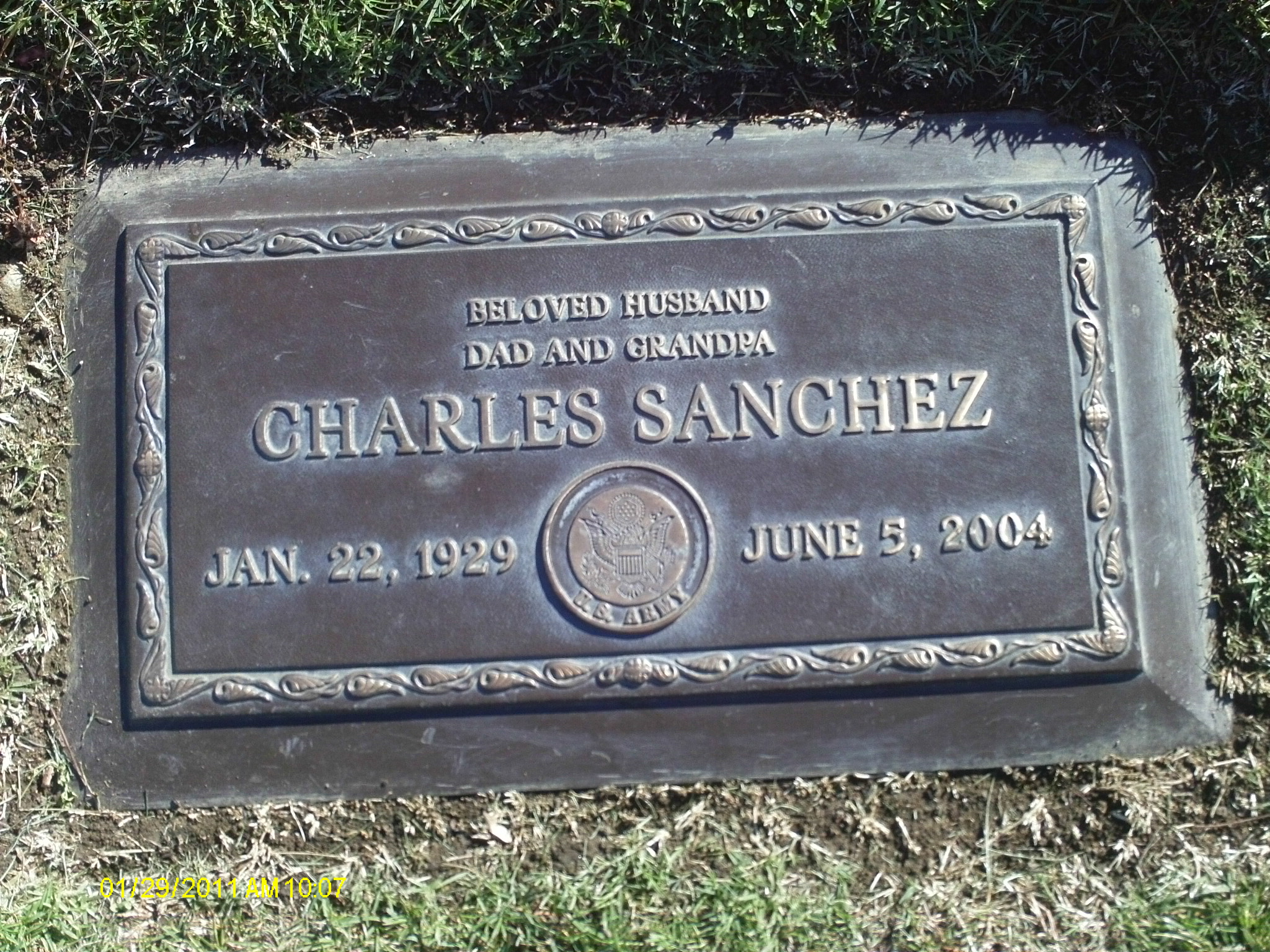 Charles Sanchez (Photo owned by author and used with permission)